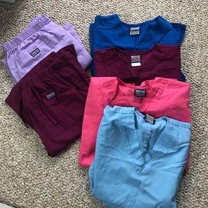 Lot of Cherokee women's scrubs